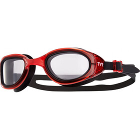 TYR Special Ops 2.0 Transition Occhialini rosso/nero